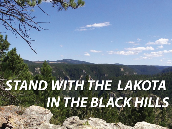 """Standing Together With the Lakota Against the """"Rainbow' Gathering in the Black Hills"""
